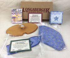 Signed Longaberger Woodcrafts Wood Basket Lid 2000 CHEERS Item NEW