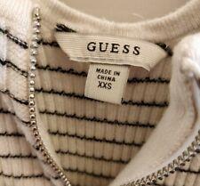 Guess striped bodycon Mini Dress - Size xxs white / black