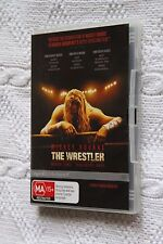 The Wrestler (DVD), Starring-Mickey Rourke, R-4, Like new (Disc: NEW) Free post