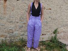 Jolie Salopette Ski Violette pour Femme de taille 38 couleurs vives