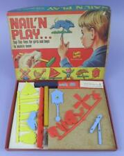 Nail' N Play Tap-Tap Toys By Berwick, c1960s Unused Shop Stock