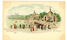 Exposition Universelle 1900-RIVE DROITE-Kahn & Zabern Postcard Paris France