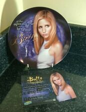 More details for buffy the vampire slayer series 1 buffy  8 inch collectors plate boxed