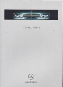 brochure 1998 MERCEDES-BENZ classe S !!!  W220____ en français ________________