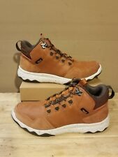 TEVA Arrowood Lux Mid Cognac waterproof leather men's shoes size 9US