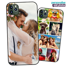 Personalised PHOTO Case Phone Cover for iPhone 12 - COLLAGE Image / Text / Logo