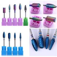 Tungsten Burr Electric Nail Drill Bit  Nail Art Griding Tool New