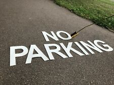 PREFORMED THERMOPLASTIC ROAD & CARPARK MARKING PAINT (NO PARKING,DISABLED) 500mm