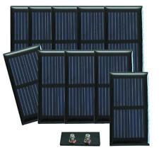 Lot de 10 cellules solaires 0,50 V - 330 mA