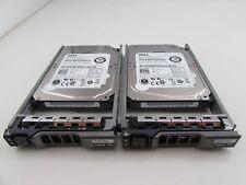 Lot of 2 Dell W328K 146GB 16MB 15K Hot Swap Slim Internal SAS 2.5 Hard Drive HDD