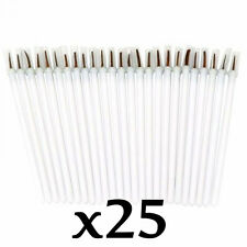 Make Up Eye Disposable Eyeliner Brush Applicators (Pack of 25)