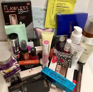 HUGE Full Size High End Makeup Lot! 40 Items + Samples & Bag!