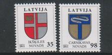 Latvia - 2011, Coat of Arms set - MNH - SG 791/2