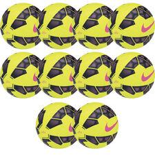 Lotto 10 piezas Balón De Fútbol Fútbol sala Nike Tono Amarillo Fluo Misura 4