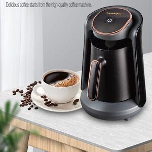 500ml Electric Turkish Coffee Maker Boiled Coffee Kettle Brew Espresso Black