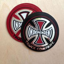 Independent trucks vinyl sticker skateboard crest bumper decal med Indy reflect