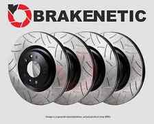 [FRONT+REAR] BRAKENETIC PREMIUM GT SLOTTED Brake Disc Rotors BPRS89192