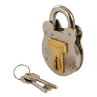 Old English Padlock 50Mm Security Padlocks Silverline 376867