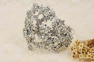 Rhinestone Hair Headband Wedding Accessories Crystal Bridal Prom Headpiece 1 PC