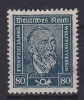 DR Mi Nr. 363 *, Heinrich von Stephan Deutsches Reich 1924