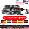 60 inch 3Row Led Strip Tailgate Bar Reverse Brake Turn Signal Light Truck SUV US
