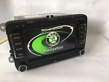 Skoda Columbus RNS510 Navigationsgerät Navi 3T0035680A LED Karte V15 Octavia etc