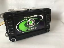 Skoda Columbus RNS510 Navigationsgerät Navi 3T0035680K LED Karte V14 Octavia etc