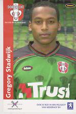 AUTOGRAMMKARTE / AUTOGRAPHCARD Gregory Stadwijk FC Dordrecht 2003/2004