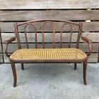 Bentwood Cane Bench Child kid size