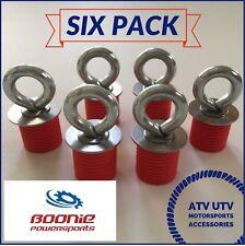 6 Pack Polaris Lock & Ride Lock and Ride ATV Tie Down Anchor RZR, Sportsman Ace