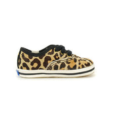 Keds X Kate Spade New York Champion Leopard Crib Shoes KL161443 NEW!