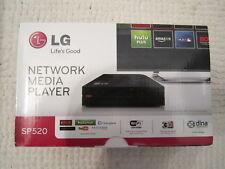 LG SP520 NETWORK MEDIA PLAYER STREAMER TV UPGRADER WIFI HDMI DIVX NETFLIX