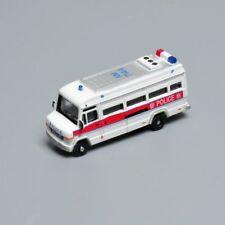 1/150th White Police Car Model Toys Plastic Diecast  Vehicles AM7144 Collection