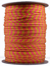 Tutti Frutti - 550 Paracord Rope 7 strand Parachute Cord - 1000 Foot Spool