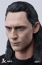 "Custom Male 1/6 Actor Avengers Loki Tom Man Head Sculpt F 12"" Hot Toys Figure"