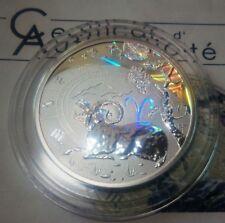 Cameroon 500 francs 2010 Aries  Zodiac Silver  box  COA mint. 3000   hologram
