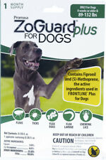 ZoGuard Plus Flea & Tick Treatment for Dogs, 89-132 lbs