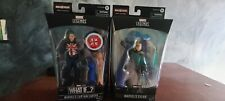Marvel Legends WHAT IF CAPTAIN CARTER and SYLVIE Figure Watcher Wave IN HAND New