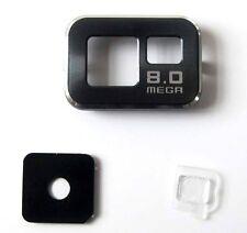 Cubierta lente Camara trasera Samsung Galaxy S2 I9100 negro