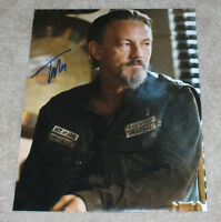 TOMMY FLANAGAN SIGNED AUTHENTIC 'SONS OF ANARCHY' CHIBS 11X14 PHOTO B w/COA