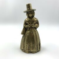 VINTAGE PEERAGE SOLID BRASS VISITORS TEA LADY CALLING TABLE BELL DESK ORNAMENT