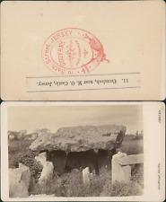 Godfray, Jersey, Cromlech, near M.O Castle Vintage CDV albumen carte de visite