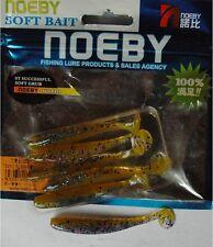 Noeby pêche leurre souple odorant Shad Minnow 7,5cm 2,2g couleur 209