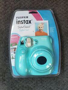 NEW FujiFilm Instax Mini 7S Instant Camera Color Seafoam SEALED FREE SHIPPING
