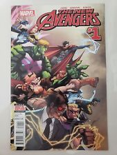 THE NEW AVENGERS #1 (2015) MARVEL COMICS ULTIMATE REED RICHARDS AS THE MAKER! NM