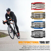 Bicycle Chain Tool Breaker Extractor Bike Multi-function Repair Kit Portable