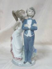 LLADRO LET'S MAKE UP BRAND NEW IN BOX #5555  BOY GIRL COUPLE LOVE SAVE$ F/SH