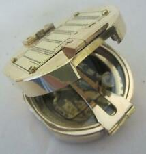 Brass Compass - Natural Sine Stanley London