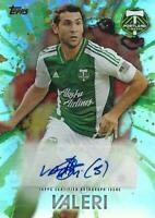 2014 Topps Major League Soccer 'MLS Maestros Autograph' Cards Certified - MLS