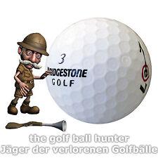 50 weiße Bridgestone e7 e7+ plus Golfbälle Lakeballs in AAA - AA Qualität B-4